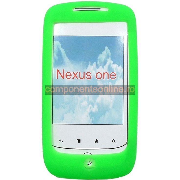 Carcasa protectoare din silicon pentru HTC Nexus One - 132140