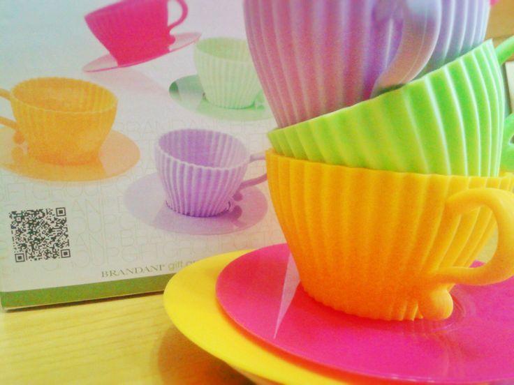 Tazzine cuoci muffin Brandani http://www.lovecooking.it/le-mie-recensioni/tazzine-cuoci-muffin-della-brandani/