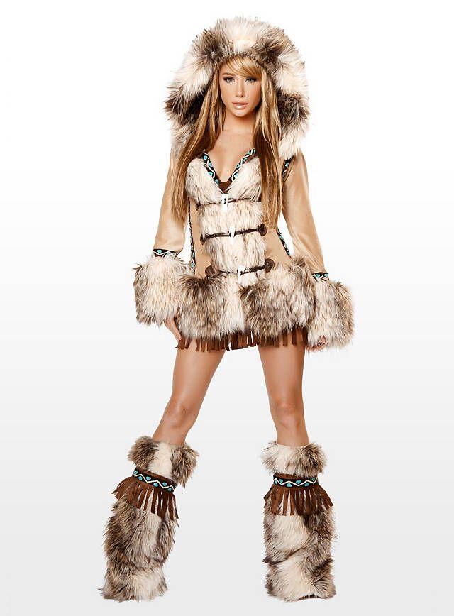 Sexy Eskimo Premium Edition Costume