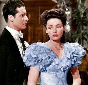 Gene Tierney and Don Ameche in Heaven Can Wait (1943)