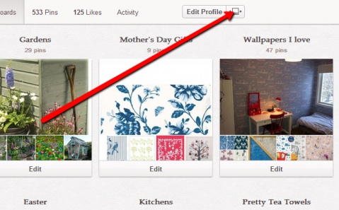 How to re-arrange your Pinterest boards AND why you should!