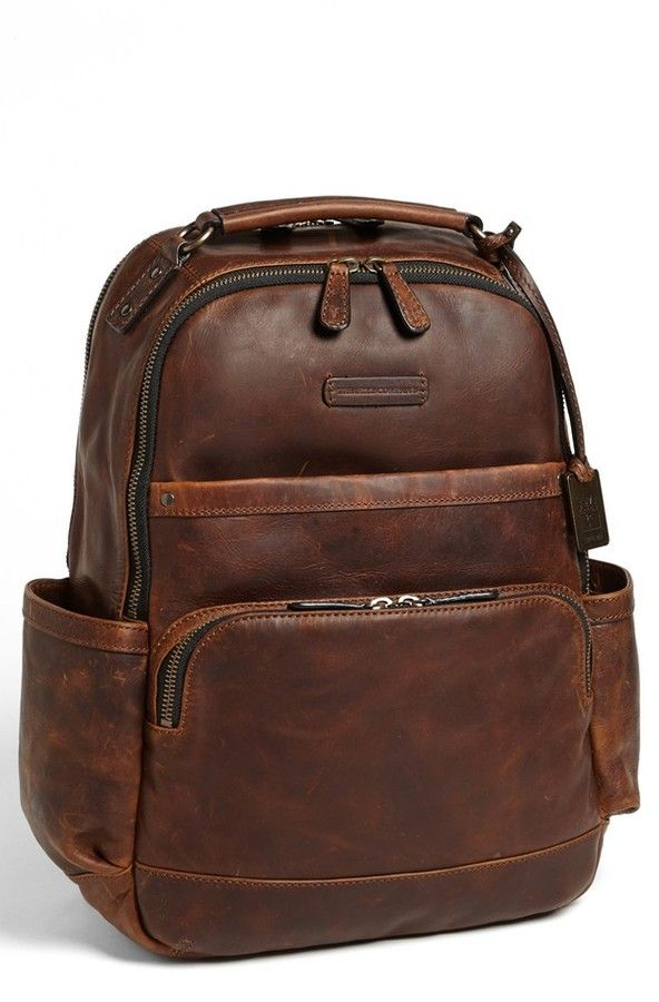 Brown Leather Backpack by Frye. Buy for $448 from Nordstrom