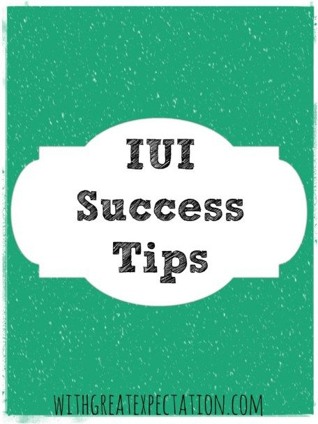 Here are some of the best IUI success tips I have found on the web, and after speaking to women who have had successful IUIs.