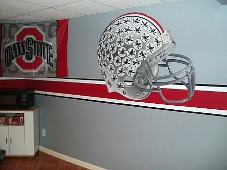 25 best ideas about ohio state rooms on pinterest ohio state buckeyes ohio state colors and for Ohio state bedroom paint ideas