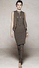 платье, женское, серое, коричневое, до колен, без рукавов, футляр, леггинсы, женские, серые, коричневые