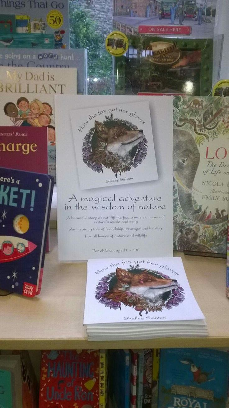 How the fox got her gloves, my first book, is making an appearance in a number of independent book shops in the UK.