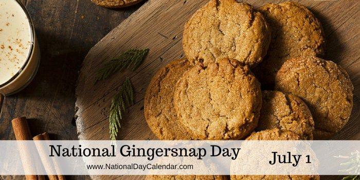 JULY 1, 2017 – NATIONAL POSTAL WORKER DAY – NATIONAL CREATIVE ICE CREAM FLAVORS DAY – NATIONAL US POSTAGE DAY – NATIONAL GINGER SNAP DAY – NATIONAL HOP A PARK DAY