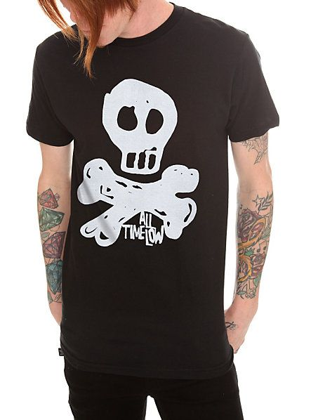 All Time Low Skull T-Shirt | Hot Topic