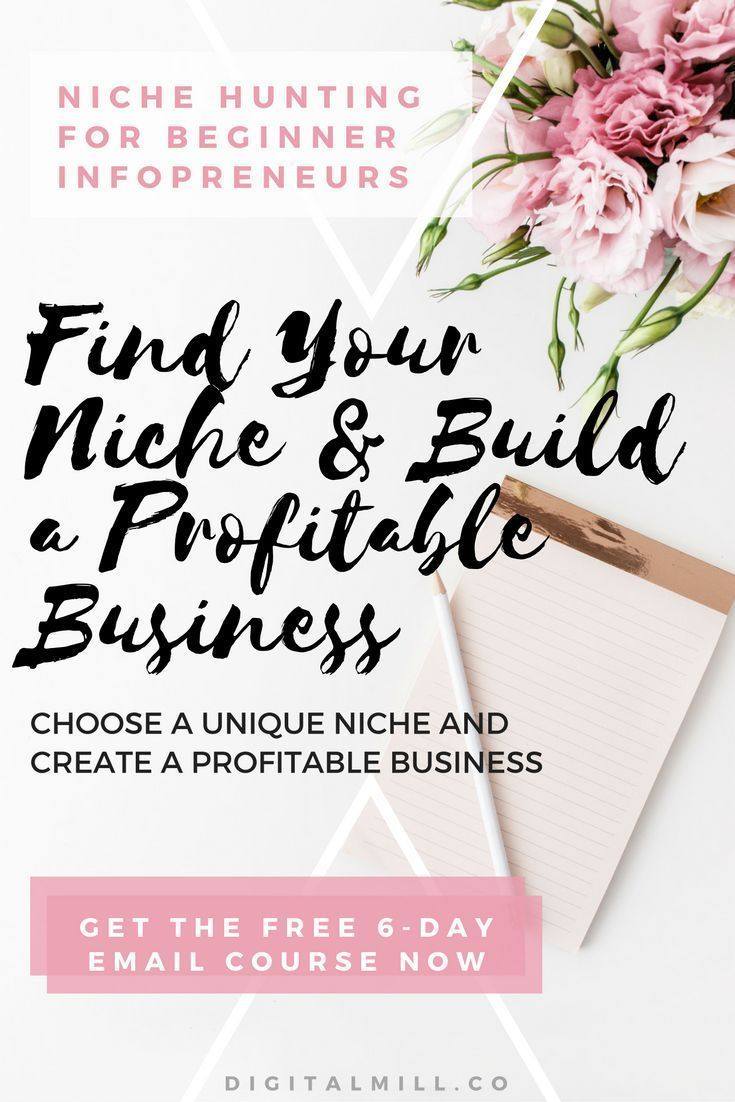 FREE COURSE: Find your niche in 6 days and build a profitable business for BEGINNER BLOGGERS AND INFOPRENEURS.   ENROLL FOR FREE NOW AND RECEIVE THE FIRST LESSON IMMEDIATELY >>