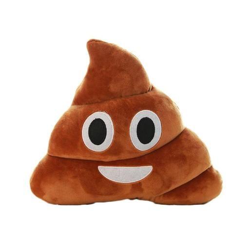 Everybody does it! #Poop #Emoji Cushion #GiftIdeas #Canada  http://giftideascanada.com/poop-emoji-cushion-3/