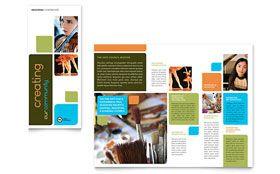 Arts Council & Education - Brochure Template