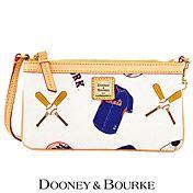 New York Mets Large Slim Wristlet by Dooney & Bourke - MLB.com Shop