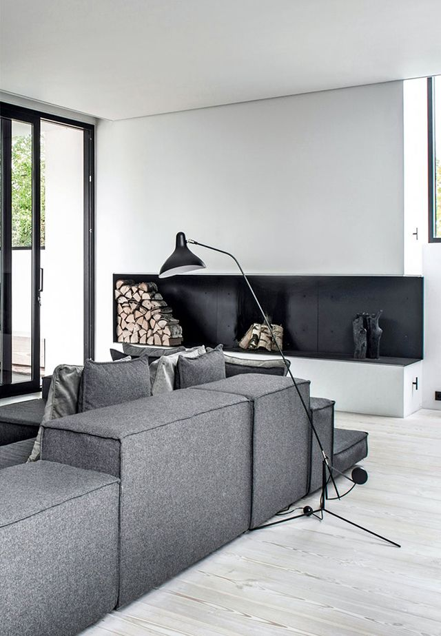 The Design Chaser: Homes to Inspire | Concrete + Dinesen in Denmark