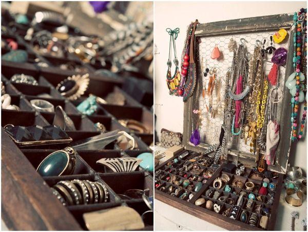 jewelry display.