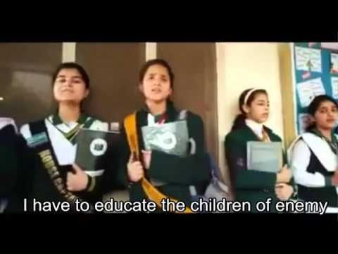 Mujhe Dushman Ke Bachon Ko Parhana Hei- I Have To Educate The Enemies Children - pakistan video