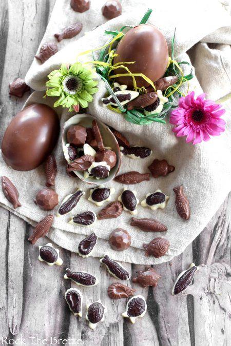 Crazy Easter Pralinen: Pommes, Shokobons ©, Kinder Surprise © (+ m … – Gourmandises