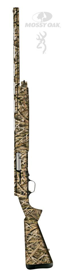 "Browning® A5 3.5"" Semiautomatic Shotgun in Mossy Oak Shadow Grass Blades Camo"