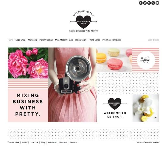 Dear Miss Modern Design Shop. Spring Fever Lover.