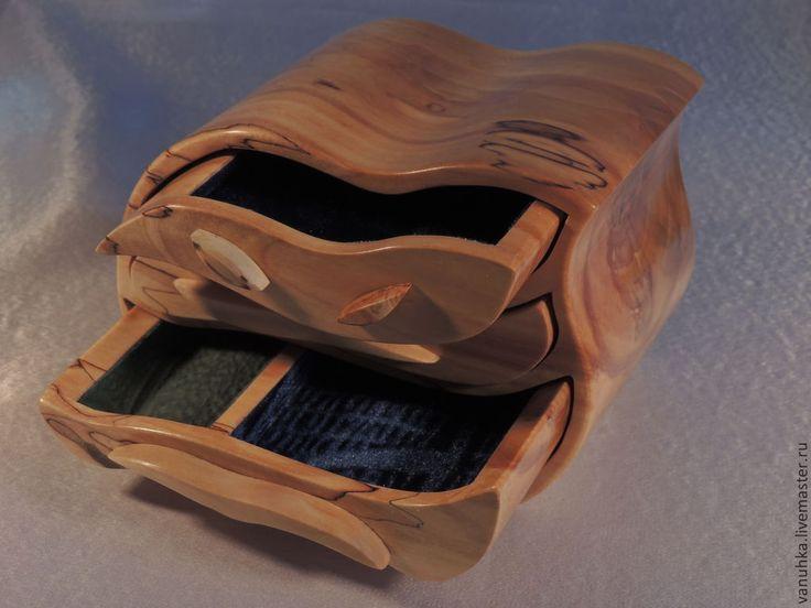 Купить Комод 353. - оранжевый, дерево, комод, подарок, подарок девушке, мини-комод, дерево