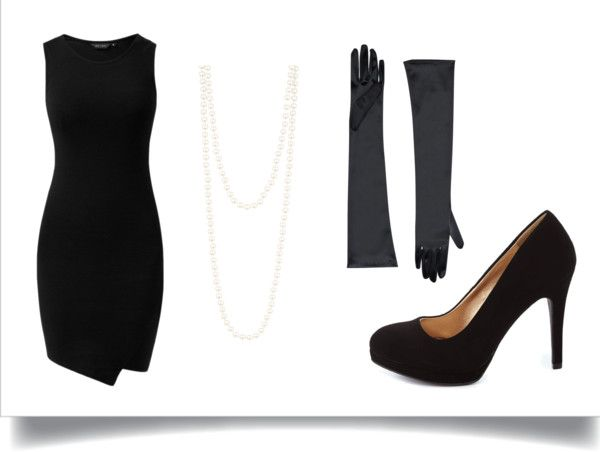 7 Ways to Turn an LBD Into a Last-Minute Halloween Costume