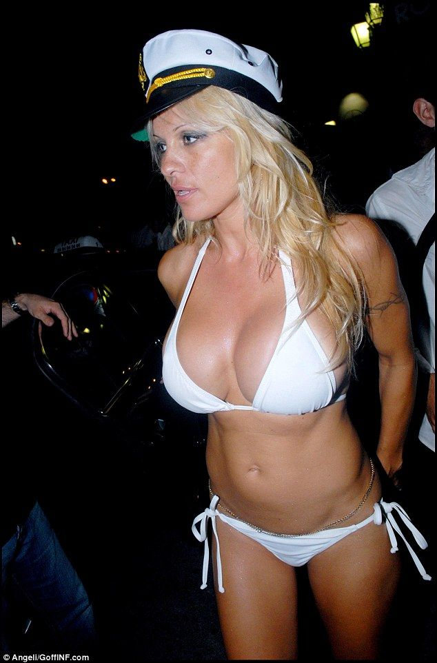 When Pamela Anderson married Kid rock on a yacht in St Tropez in 2006, she did away with the wedding dress altogether and wore a white bikini