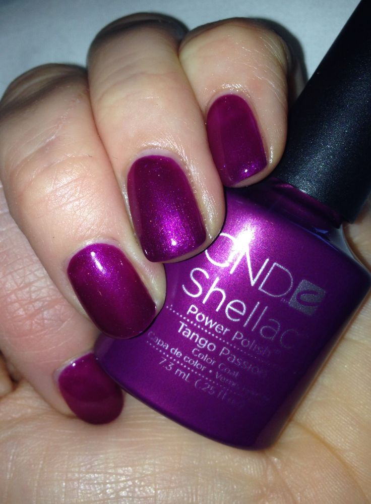 80 Best Shellac Nail Colours Images On Pinterest