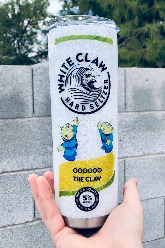 White Claw Toy Story : white, story, Ooooooh, White, Glitter, Tumbler/Toy, Story, Tumbler/Alien, Gifts, Custom, Tumbler, Cups,