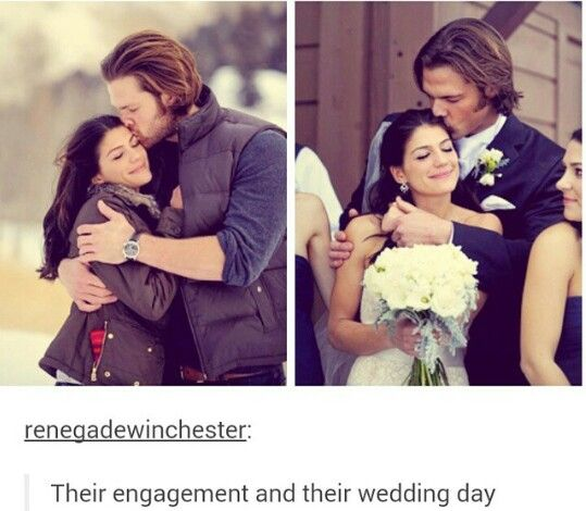 Jared Padalecki // Genevieve Cortese // Wedding