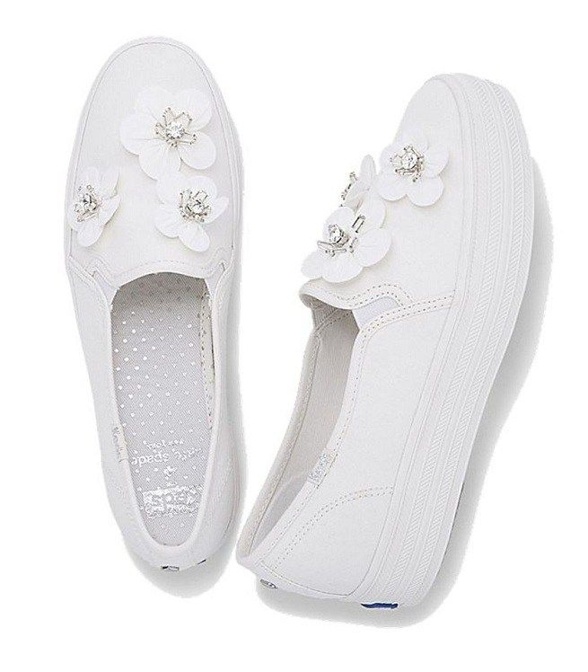 Keds x Kate Spade Wedding Sneakers Are