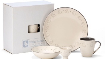 Rabbit Crockery Set from White Rabbit England by