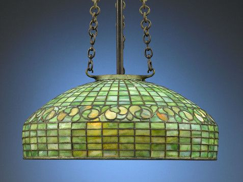 Antique Lighting Tiffany Hanging L& Glass L& ~ M.S. Rau Antiques & 41 best Let there be light! images on Pinterest | Antique lighting ... azcodes.com