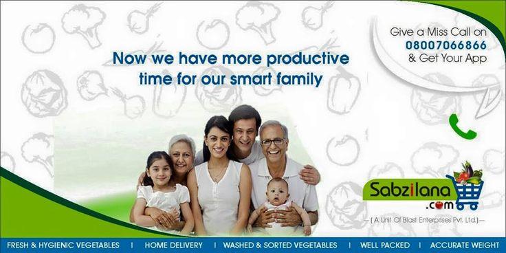Smart Peoples Smart Buying Solution.   #Sabzilana.com #Nagpur #Online #Vegetables #Fruits