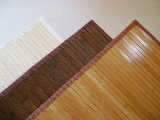 Nice bamboo placemats for floors or wall paneling