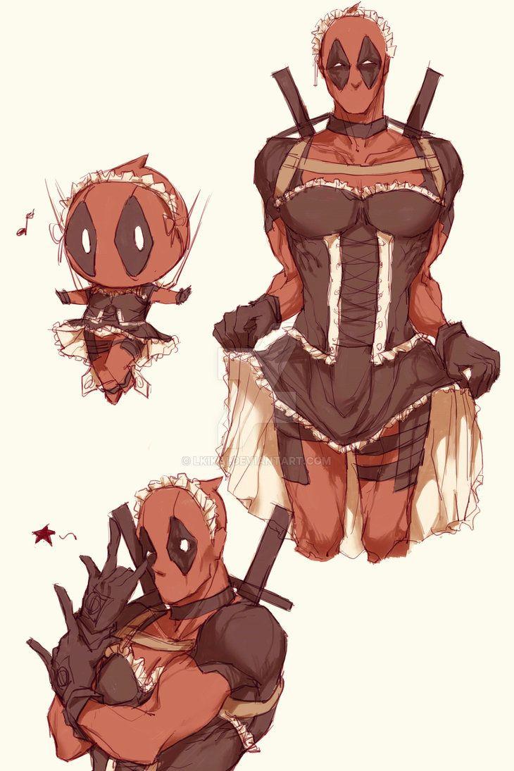 Cute Anime Nsfw Wallpaper Spideypool85 By Lkikai Spidypool Deadpool Spideypool