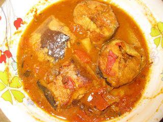 My Delicacy: Indian Catfish Curry (Oriya Style)