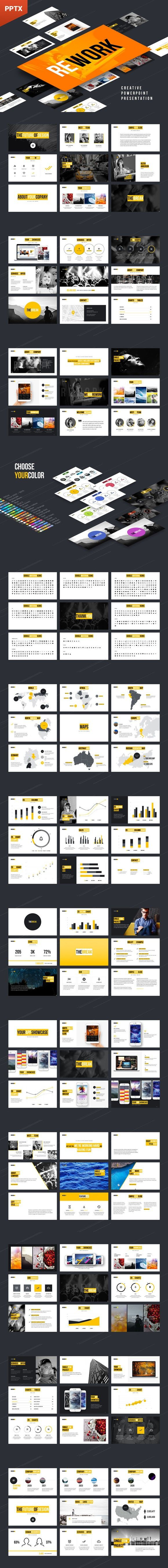 Rework PowerPoint Presentation. Google Slides Templates. $16.00