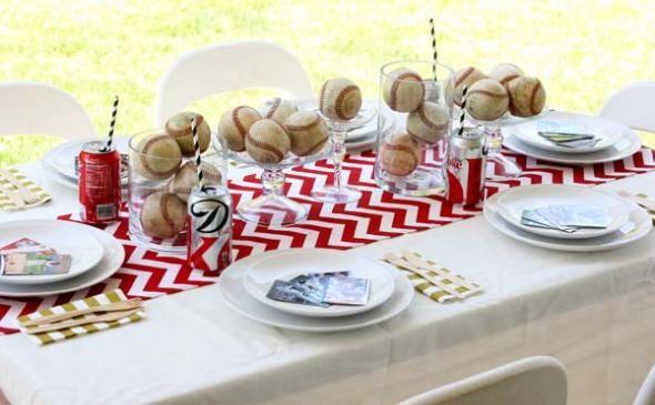 6 DIY Ideas for a Baseball Theme Party