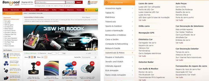 Veja tutorial de como comprar acessórios para carros direto da China