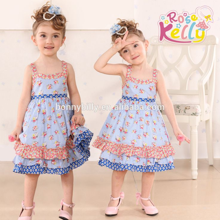 Baby Girls Casual Frock Designs