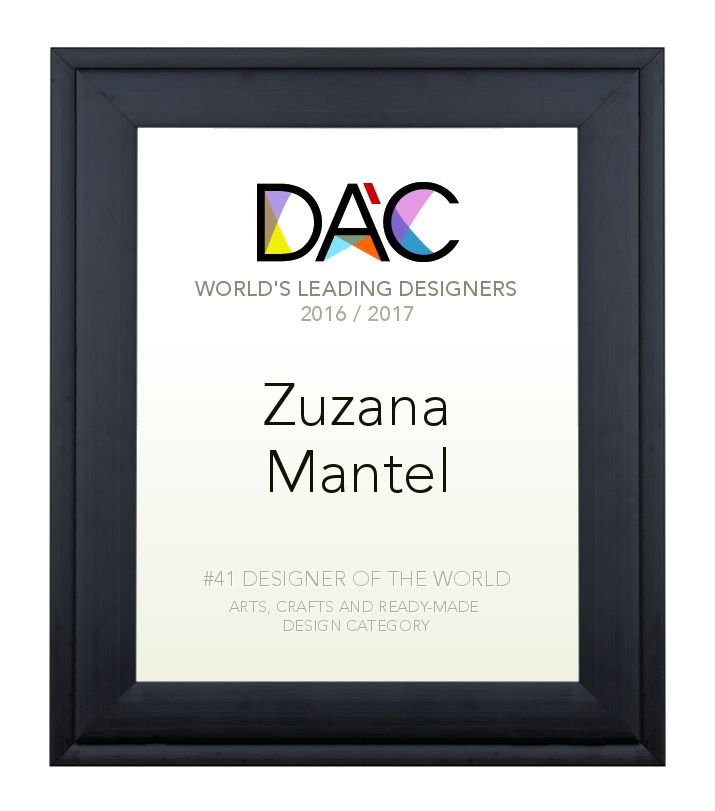 A' Design Award and Competition - dipl. Ing Zuzana Mantel Design Classifications Standing