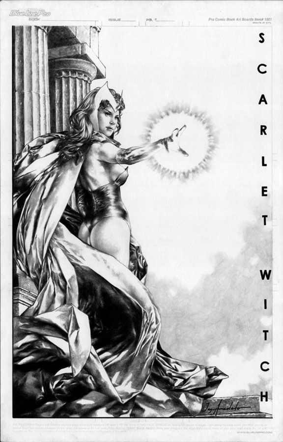 Scarlet Witch by Jay Anacleto