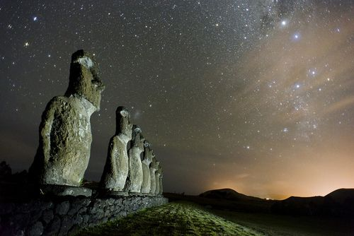 Easter islands....what a crazy place... | @GuessQuest travel collection