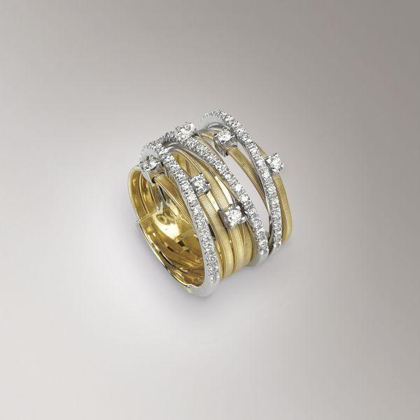 Anelli - oro-giallo - diamanti -  AG278 B2