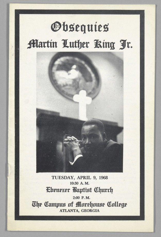 martin luther king jr funeral program pdf