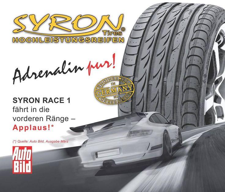 Syron Race 1 Plus Syron Hochleistungsreifen syron.eu Reifen für den Motorsport