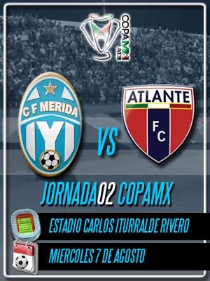 Jornada 02 Copa MX recibiendo en el Carlos Iturralde a los Potros del Atlante! No faltes.