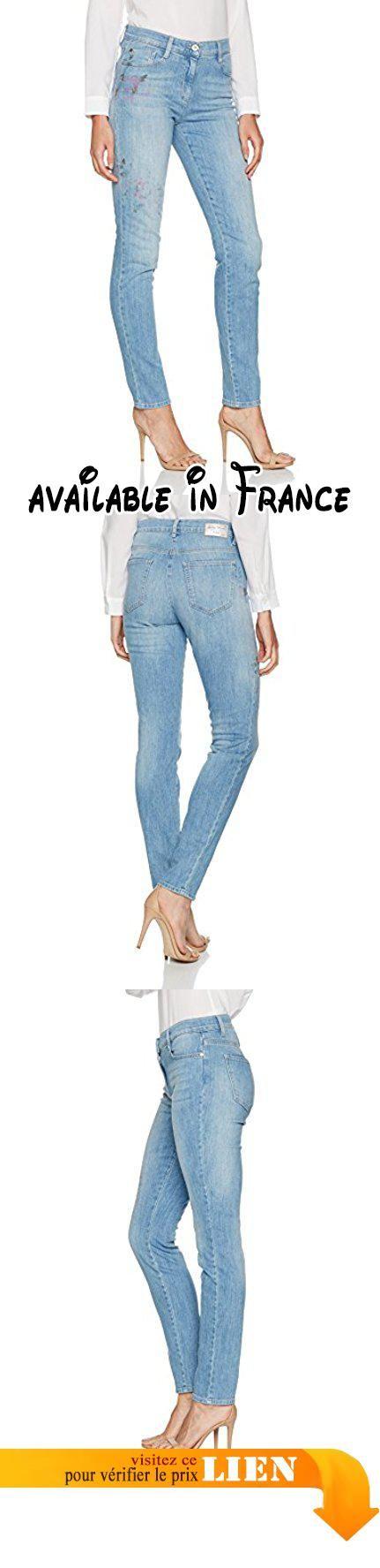 Brax BX_SHAKIRA Pain, Jean Coupe Ajustée Femme, Blau (Painted Blue 26), 29W x 32L (Taille du Fabricant: 38).  #Apparel #PANTS