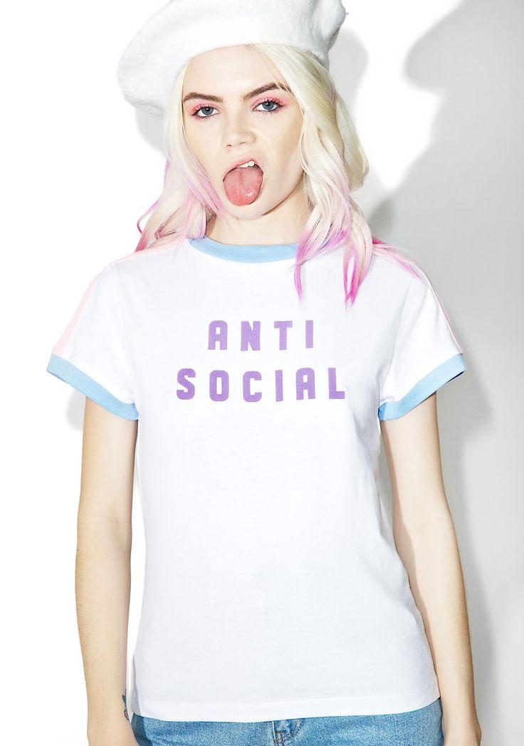 Lazy Oaf Anti Social Tee