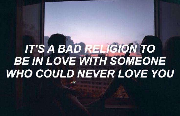 bad religion // frank ocean