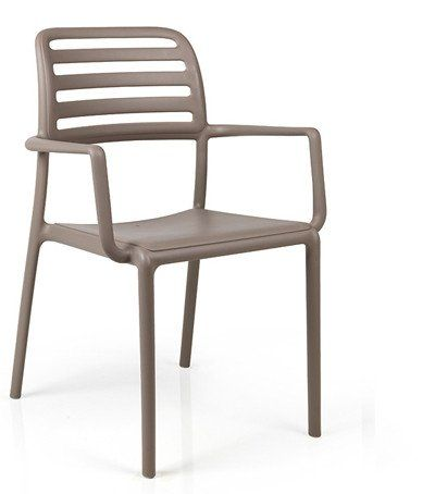 £36 plus VAT Polypropylene fibre glass frame Curved-back Stackable Seat Height 465mm Width 585mm Depth 590mm Lead times 2-4 weeks FastTrack Minimum order 10 pcs All Prices Exclude VAT and Delivery